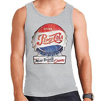 Pepsi Cola meer stuiteren op de ounce mannen vest
