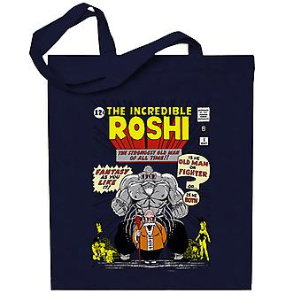 The Incredible Roshi The Strongest Old Man Dbz Totebag