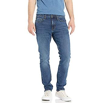 Essentials Men's Skinny-Fit Stretch Jean, Vintage Light Wash, 35W x 28L