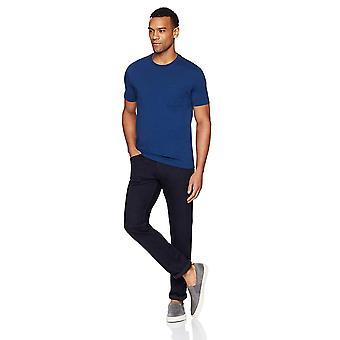 "Goodthreads Men&s ""The Perfect Crewneck T-Shirt"" Bawełna z krótkim rękawem, Royal B..."