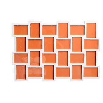 Rebecca Furniture Frames Mosaic Photo 24 White Spaces Mdf 61x92x1.2
