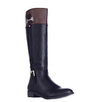 Karen Scott Womens Deliee amande Toe Knee High bottes d'équitation