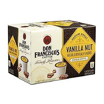 Don Francisco's Vanilla Nut Flavor Single Serve Coffee Pods