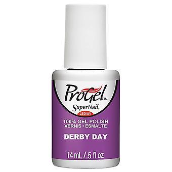 SuperNail ProGel Gel Nail Polish - Derby Day 14ml