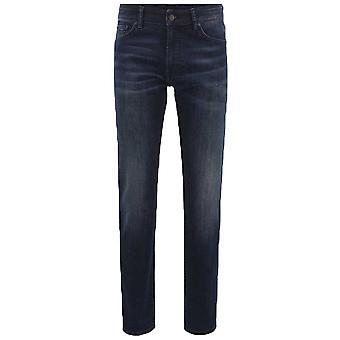 Hugo Boss Casual menns mørkeblå passer vanlig Maine BC-C Jeans