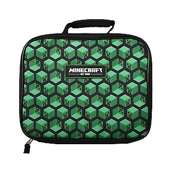 Minecraft Creeper Face AOP Lunch Bag