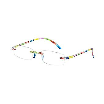 Reading Glasses Unisex Memory Strength +3.50 (le-0103F)