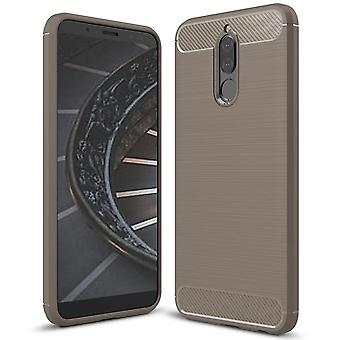 Shell für Huawei Mate 10 Little Grey Carbon Fiber Armor Case Protection