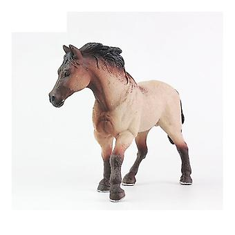 Simulation Animal Model Horses Action Figures- Children Home Decor Fairy Garden Accessories Figurine Gift For Kids Toy