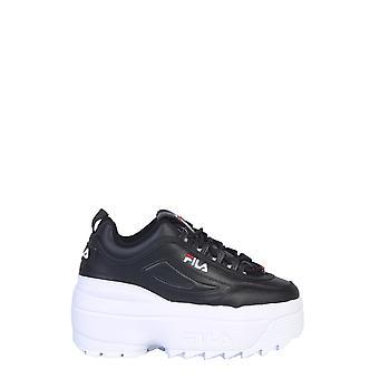 Fila 5fm00704014 Women's Black Leather Sneakers