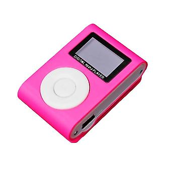 Colorful Mini Mp3 Music Player With Lcd Screen Micro Tf Card