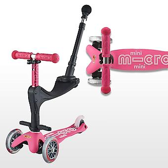 Micro Scooters Mini Micro 3in1 Deluxe Push Along Scooter