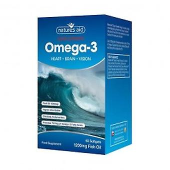 Natures Aid - Super Strength Omega 3 Capsules 60s