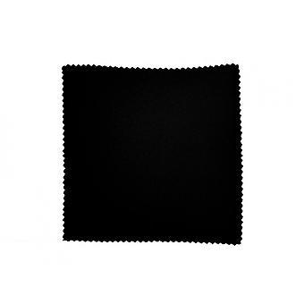 tissu de lunettes noires en microfibre