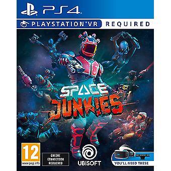 Space Junkies Playstation VR PS4 Game (Duitse Doos - EFIGS in spel)