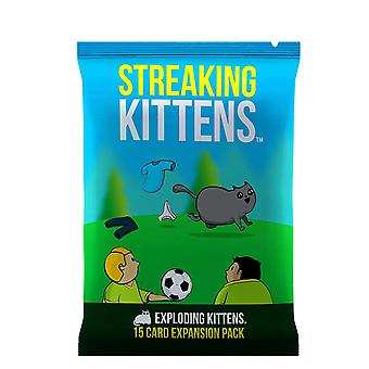 Streaking Kittens The Second Expansion of Exploding Kittens (Pack of 12)