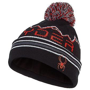 Spyder MINI ICEBOX Toddler Knit Winter Hat Black