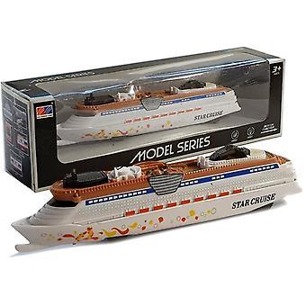 Legetøj krydstogtskib - 24 x 3,5 x 4,5 cm - med belysning og lyd