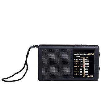 Mini Portable 2 Bands 88-108MHz FM 530-1600KHz AM Retro Radio