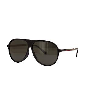 Gucci Asian Fit GG0829SA 001 Black/Grey Sunglasses