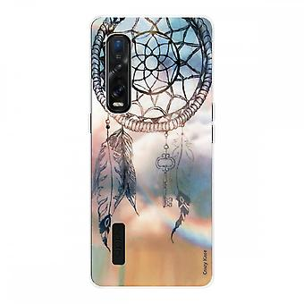 Hull For Oppo Find X2 Pro In Silicone Soft 1 Mm, Catch Dreams