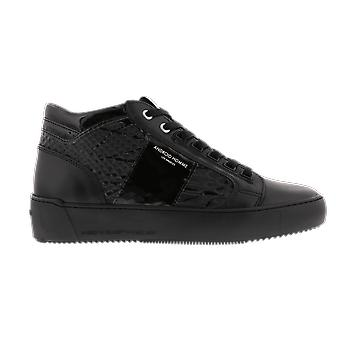 Android Homme Propulsion Mid Black Gloss Black AH401 shoe