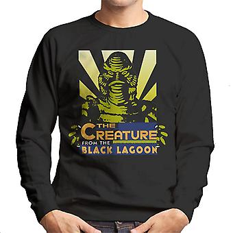 The Creature From The Black Lagoon Beam Head Men's Sweatshirt