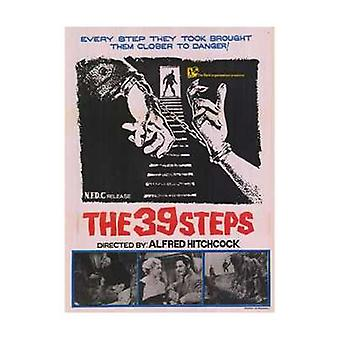 The 39 Steps Movie Poster (11 x 17)