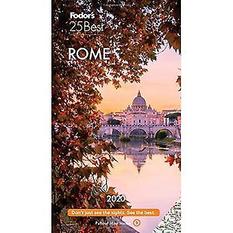 Fodor's Rome 25 Best 2020 (Full-color Travel Guide)