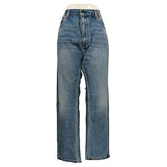 Levi's Men's Straight Jeans 40x30 Zip Fly Straight Leg Regualr Fit Blue