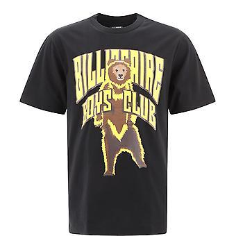 Billionaire B20470black Men's Black Cotton T-shirt