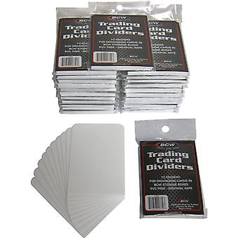 BCW Trading Card Dividers 10 Per Pack