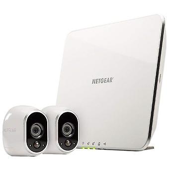Arlo hd älykäs kodin turvakamerajärjestelmä | langaton wi-fi, yönäkö, sisä- tai ulkotilat, hd wom12489