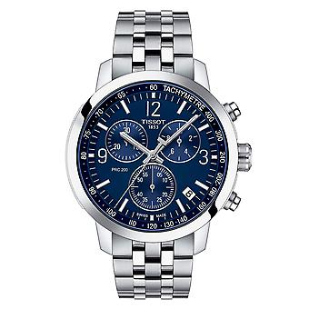 Tissot T1144171104700 Mens T-Sport PRC 200 Blue Dial Stainless Steel Watch