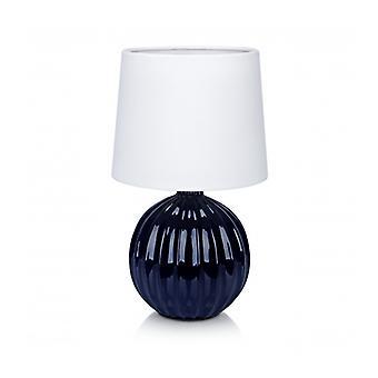 Melanie Blau Tischlampe 1 Licht