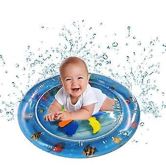 Alfombra de agua inflable para bebés, centro de juegos de actividades divertidas