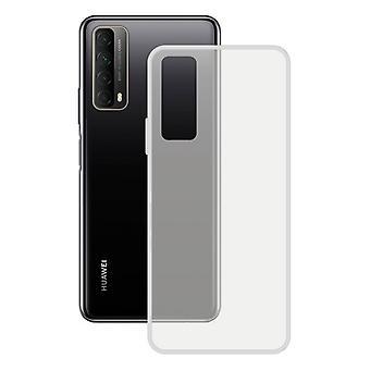 Mobile cover Huawei P Smart 2021 KSIX Flex Tpu Transparent