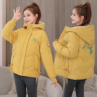 Winter Frauen Casual Thicken warm gepolsterte Jacken Mantel