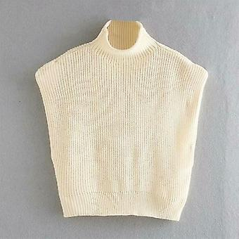 Knit Vest Women Fashion Sweater