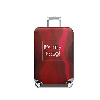 Travel Luggage Protector Red Shadow