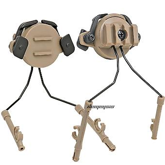 Tactical Helmet-accessories, Military Headset-holder Fast Helmet Rail-adapter