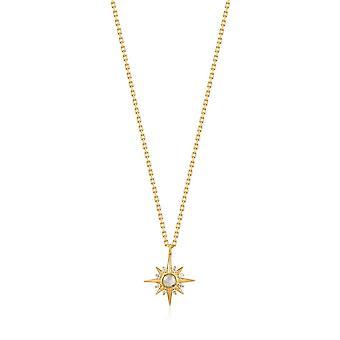 Ania Haie Shiny Gold Midnight Star Necklace N026-02G