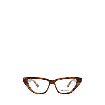 Balenciaga BB0128O havana female eyeglasses