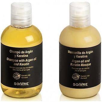 Soivre Shampoo + Mask Argan-Keratin