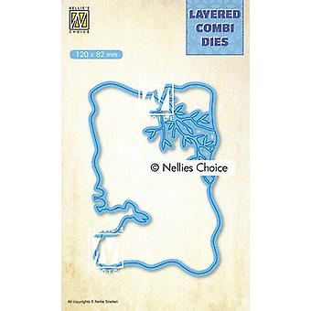 Nellie's Choice Layered Combi Dies Easter (Layer B) Lcdpa002 120x82mm
