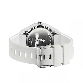 Watch Ruckfield 685063 - Analog Silicone White Black Dial Men