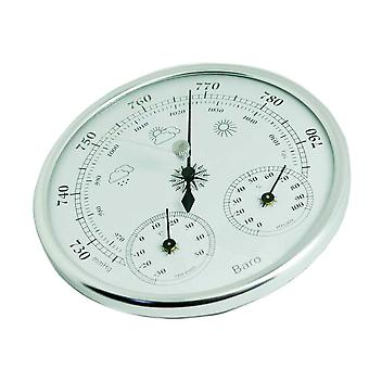 Hygrometer thermometer high accuracy mini barometer pressure gauge multifunctional tester 3 in 1 hanging wall mounted vintage