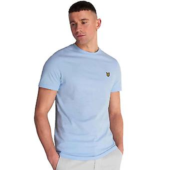 Lyle & Scott Crew Neck T-Shirt - Pool Blue