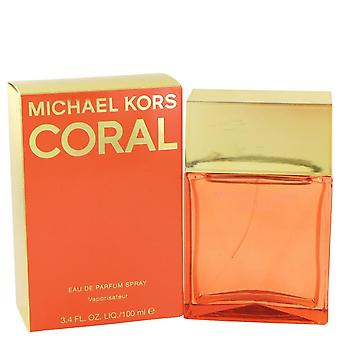 Michael Kors Korallen Eau De Parfum Spray von Michael Kors 3.4 oz Eau De Parfum Spray