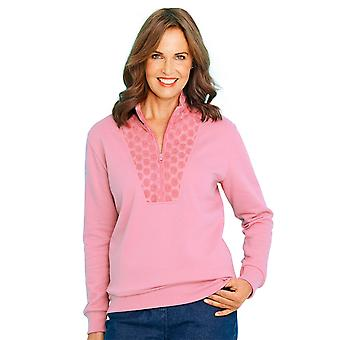 Chums Lace Front Leisure Top